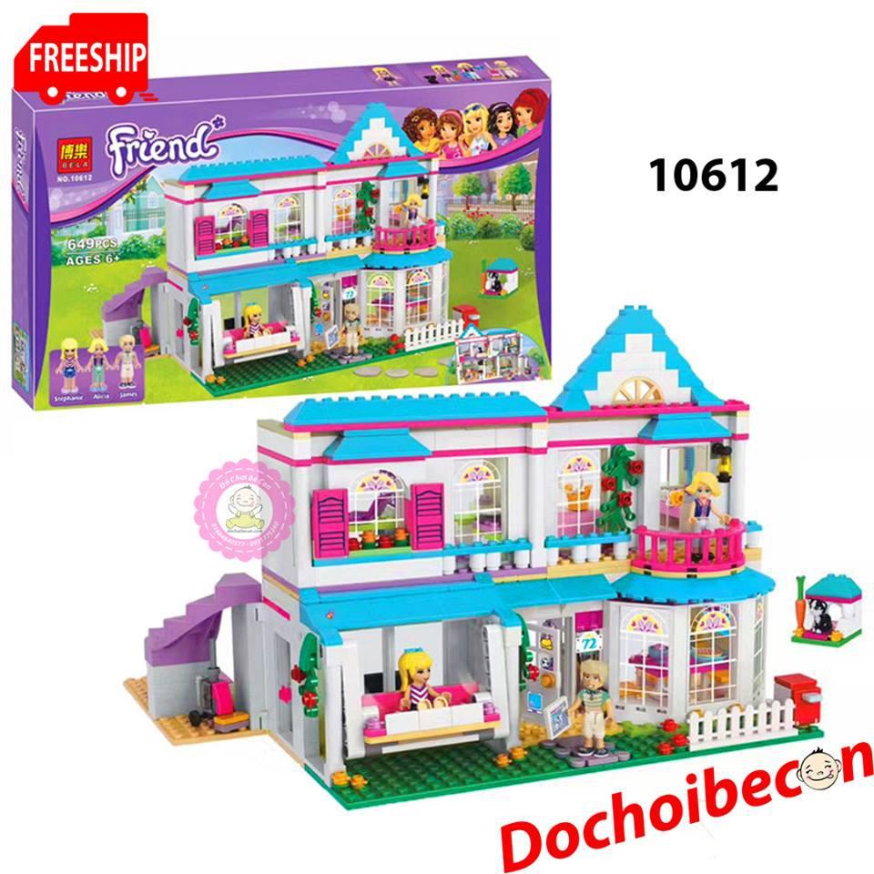 Lego Friends (Bela) 10612 - Ngôi Nhà 2 tầng của Stephanie - 649 chi tiết - 2389343 , 1162480342 , 322_1162480342 , 450000 , Lego-Friends-Bela-10612-Ngoi-Nha-2-tang-cua-Stephanie-649-chi-tiet-322_1162480342 , shopee.vn , Lego Friends (Bela) 10612 - Ngôi Nhà 2 tầng của Stephanie - 649 chi tiết