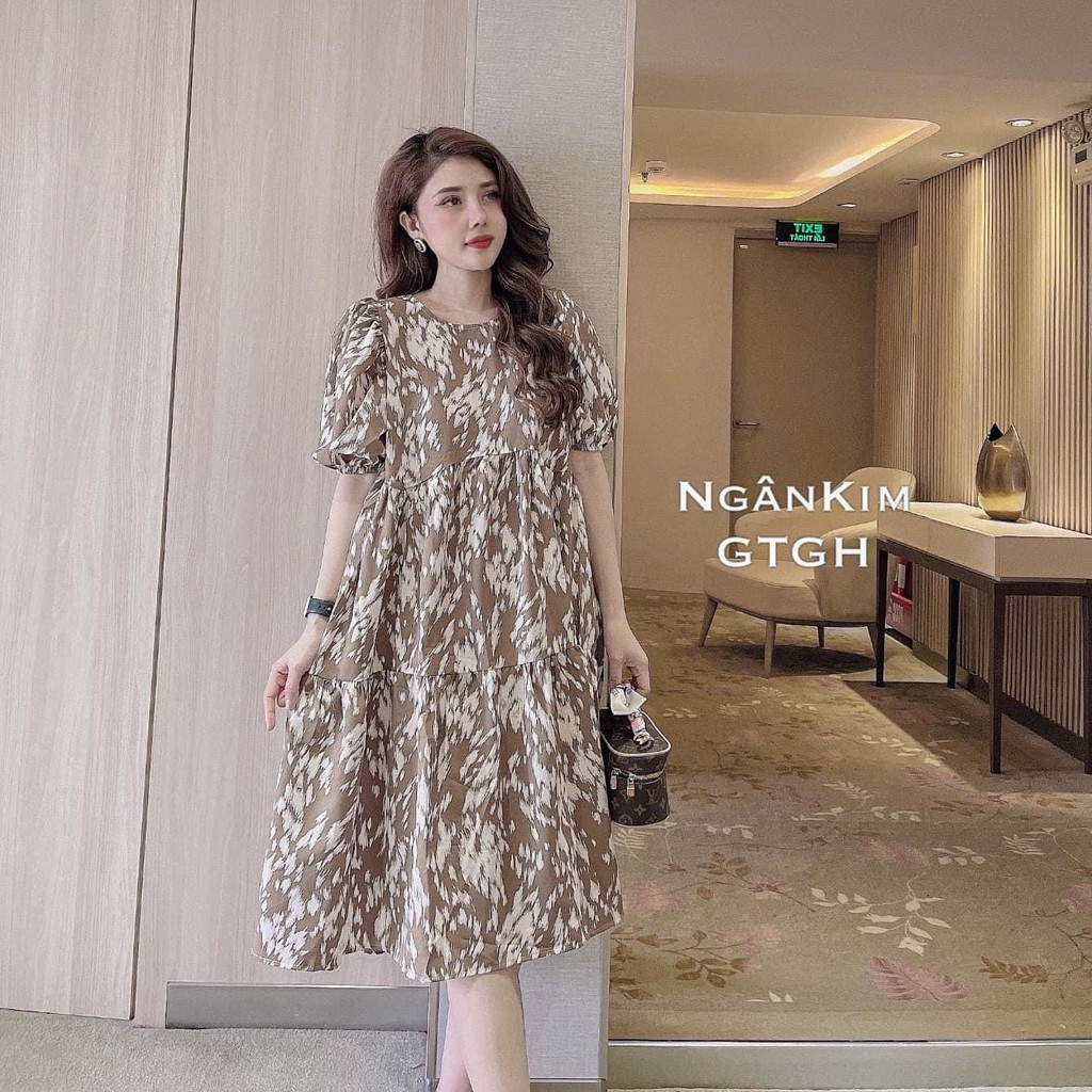 Mặc gì đẹp: Dễ chịu với Đầm Bầu Váy Bầu Thiết Kế Đẹp Mùa Hè Công Sở Mặc Ở Nhà Dự Tiệc Đi Chơi HD2852 Honey Mommy
