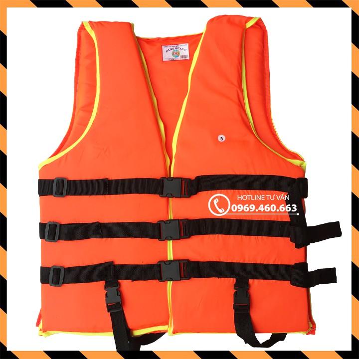 Áo phao bơi cứu hộ trẻ em người lớn. Sức nâng 50kg