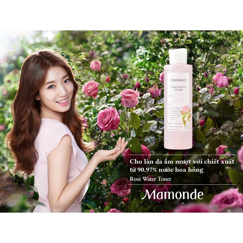 XẢ KHO SỈ} Nước Hoa Hồng Không Cồn Dưỡng Ẩm Mamonde Rose Water Toner |  Shopee Việt Nam