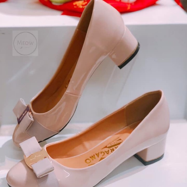 Giày 3cm ferragamo