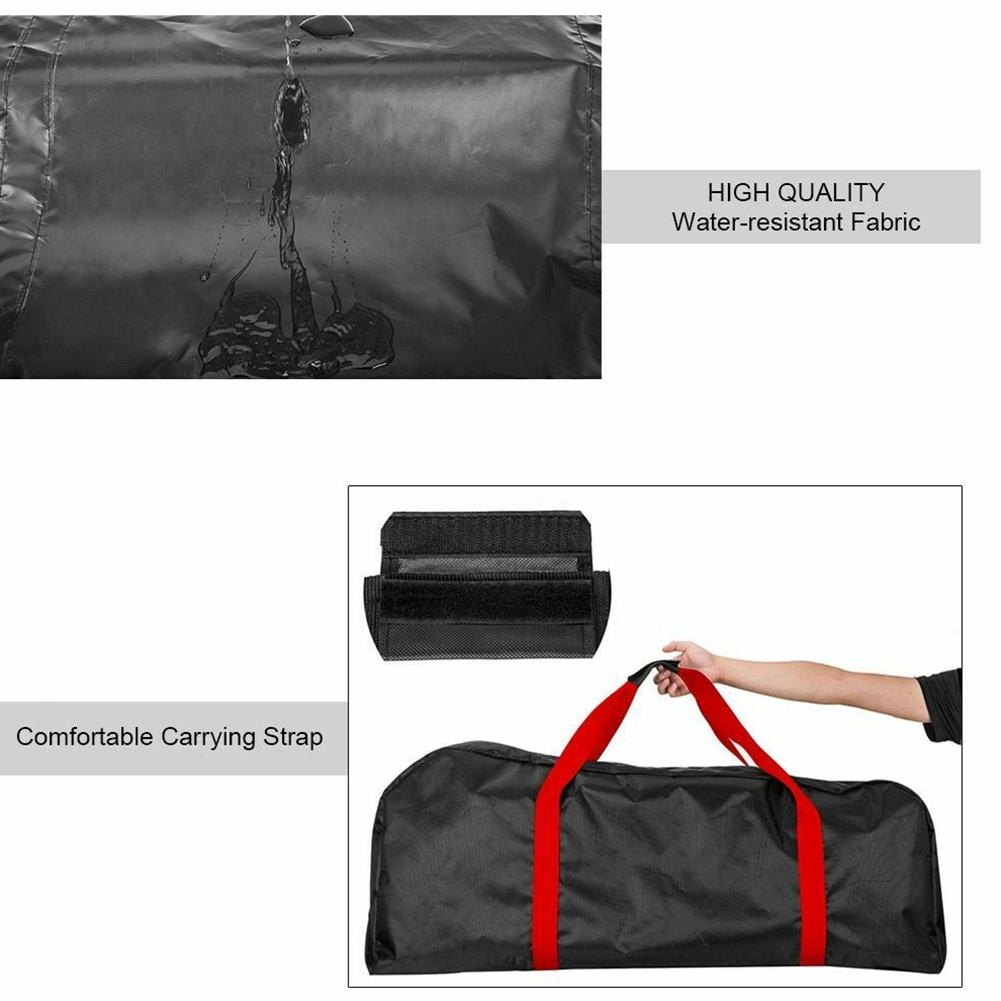 Waterproof Large Canvas Storage Wear Resistant Zipper Carrying Bag Portable For Xiaomi M365 Electric Scooter