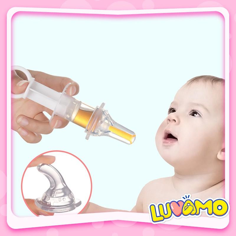 Dụng cụ bón thuốc ống hút sữa dạng xilanh cho bé không chịu bú bình an toàn chống sặc CS04
