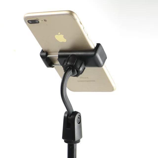 [Mã ELORDER5 giảm 10K đơn 20K] Giá Đỡ Điện Thoại quay video, chụp sản phẩm livestream, chân đế tròn xoay 360