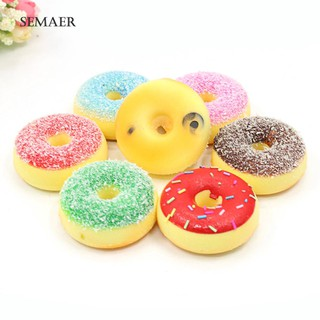 Đồ chơi giảm căng thẳng hình bánh donut xinh xắn
