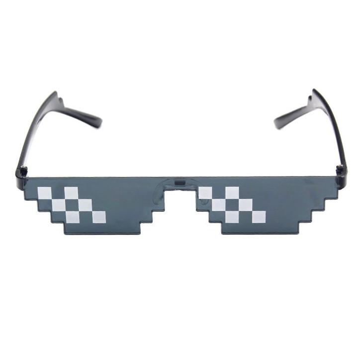 Kính Mắt Nam Nữ Thời Trang Thug Life - Kính Thug Life Kính Minecraft Hàng Chuẩn Chắc Chăn 6 Chấm...