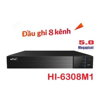 Đầu ghi hình Hiviz 8 kênh 4 kênh 5.0MP 2K , hỗ trợ 5 in 1, Hàng chính hãng thumbnail