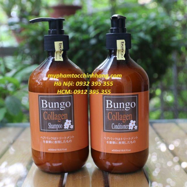 Dầu gội xả Bungo collagen 500ml*2