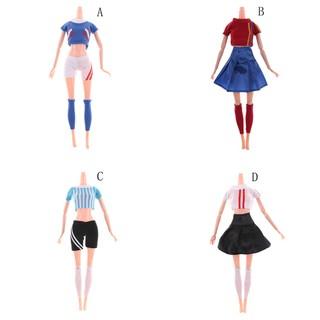 ♑BEW♑ World Cup Female Footballer Dolls Clothes Doll Accessories [OL]