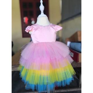 váy xoè công chúa cho bé (size từ 9-23kg)váy thiết kế
