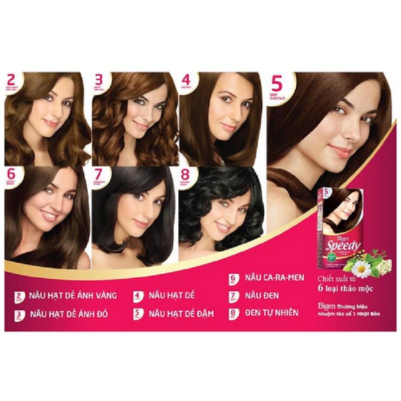 Kem nhuộm tóc thảo dược Bigen Speedy Conditioning Color từ Thái Lan - HSD 06 / 2022 - 2647687 , 398624786 , 322_398624786 , 163000 , Kem-nhuom-toc-thao-duoc-Bigen-Speedy-Conditioning-Color-tu-Thai-Lan-HSD-06--2022-322_398624786 , shopee.vn , Kem nhuộm tóc thảo dược Bigen Speedy Conditioning Color từ Thái Lan - HSD 06 / 2022