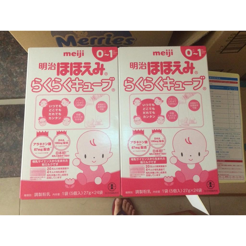 Sữa Meiji số 0 dạng thanh 27g x 24 gói (nội địa Nhật) - 13821323 , 1277736365 , 322_1277736365 , 630000 , Sua-Meiji-so-0-dang-thanh-27g-x-24-goi-noi-dia-Nhat-322_1277736365 , shopee.vn , Sữa Meiji số 0 dạng thanh 27g x 24 gói (nội địa Nhật)