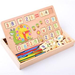 [HOT] Bảng gỗ que tính và chữ số cho bé vrg1158