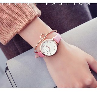 Đồng hồ nữ Eavanlin 0495 hàng chính hãng dây da thumbnail