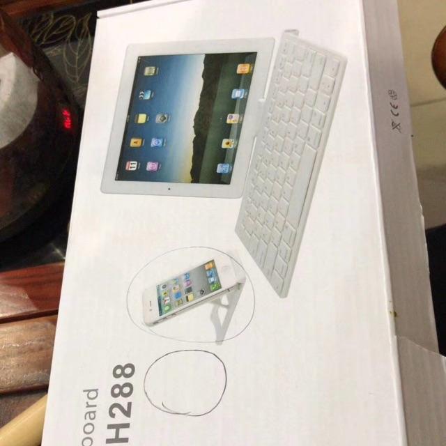 Bàn phím blutooth cho ipad và smart phone