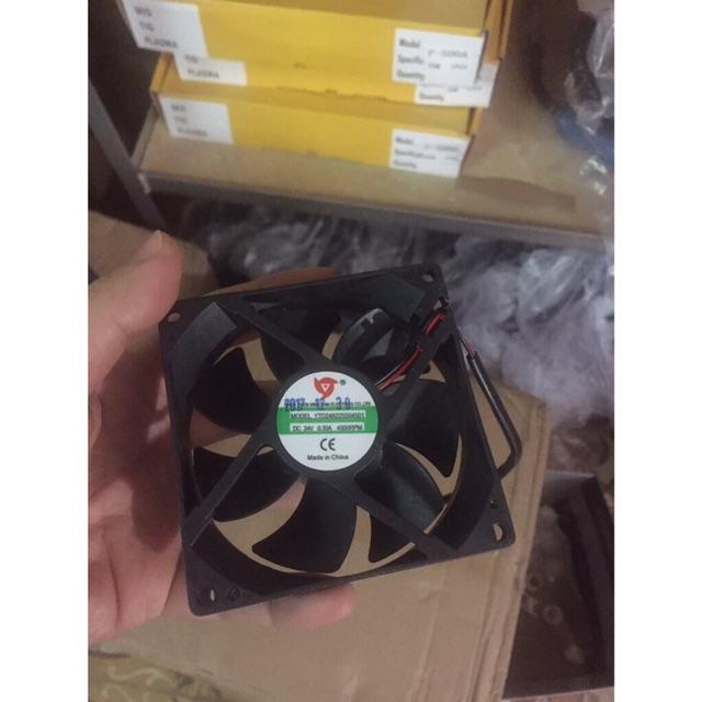 Quạt 24v quạt làm mát 9*9cm dùng cho máy hàn / phụ kiện náy hàn