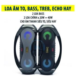 [Mã ELFLASH5 giảm 20K đơn 50K] Loa Kẹo Kéo Karaoke Bluetooth Mini KIMISO S2 | Loabluetooth Rất Hay