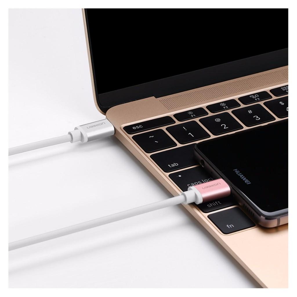 Dây cáp chuyển đổi USB 2.0 sang USB Type C UGREEN US188