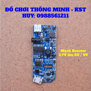 Mạch booster 3.7V lên 6V / 9V dùng chế quạt mini
