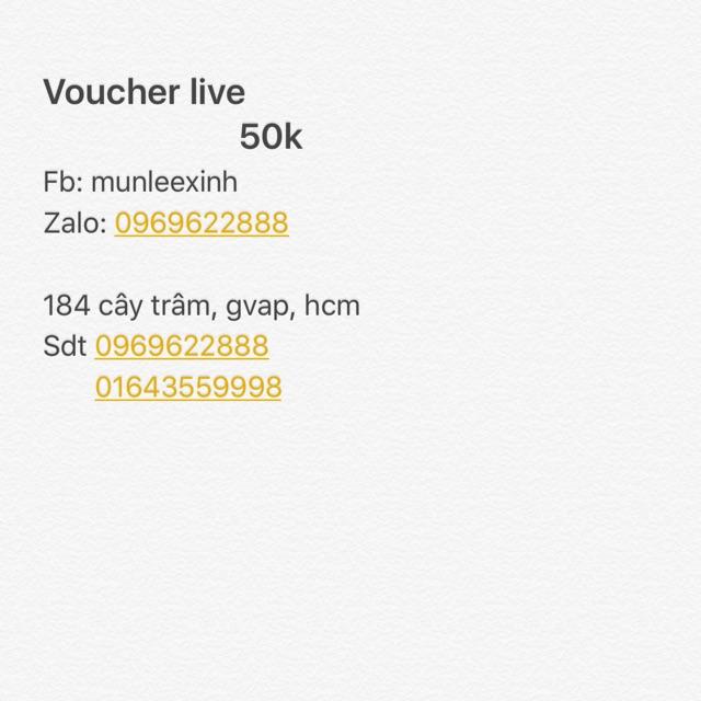 Voucher 50k