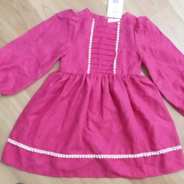 Váy nhung trẻ em