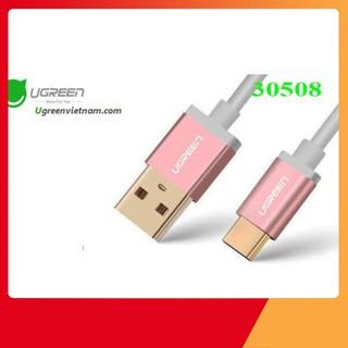 [SẬP GIÁ SỈ = LẺ] Cáp Sạc USB Type-C To USB 2.0 Ugreen 30510 Vàng Hồng Dài 2M