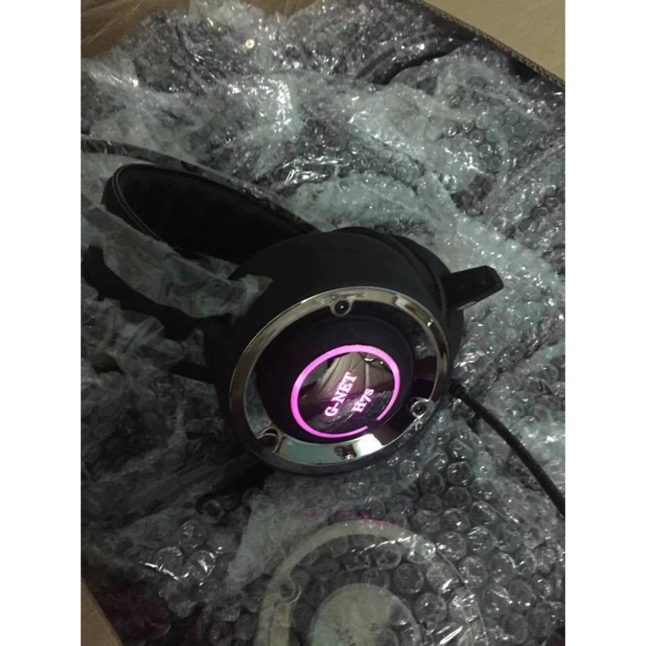 Tai nghe Gnet H7s (Rung, Led) - Tai nghe có dây chụp tai (On-Ear) Nhãn hiệu  G-NET