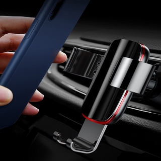 Metal Gravity Multifunctional Buckle Car Holder Mobile Phone Holder Suitable for All Mobile Phones
