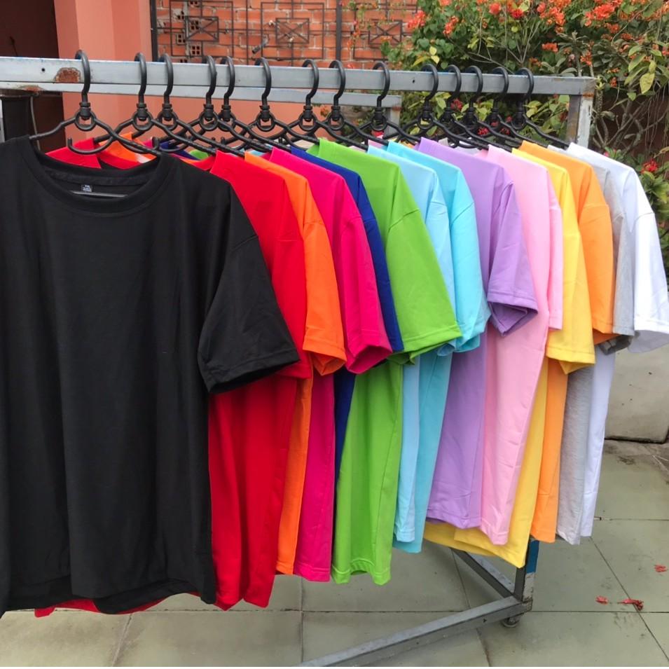 Áo Thun Trơn Nhiều Màu Nhiều Size Loại Tốt Giá Rẻ, Thương Hiệu Ken T-Shirt