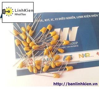 [Sale] Tụ Tantalum 103-10nF DIP5.08 (Sứ Vàng) (10PCS)