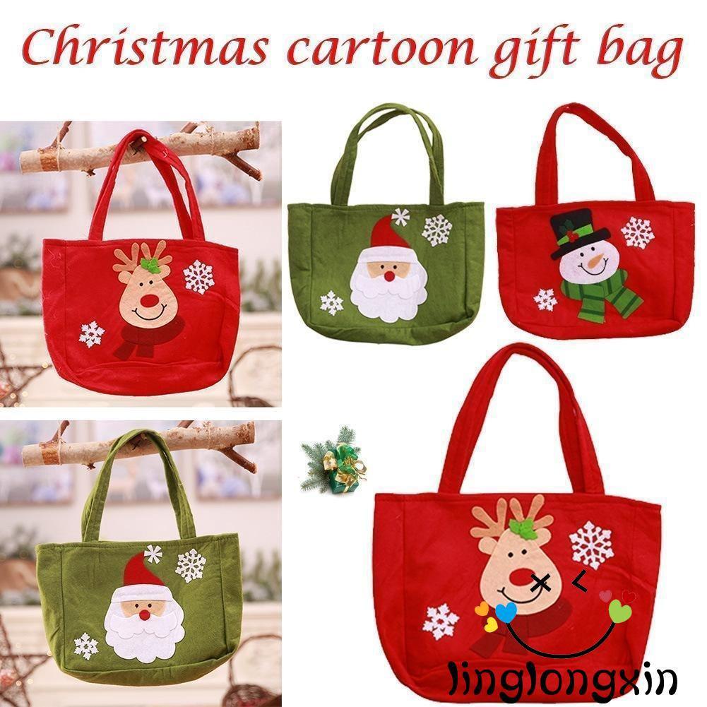Túi Đựng Quà Giáng Sinh Đáng Yêu