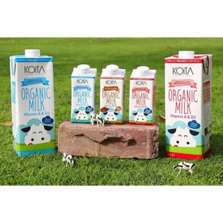 Sữa tươi hữu cơ Koita