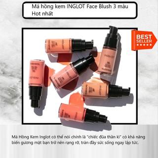 Má hồng kem INGLOT Face Blush 3 màu Hot nhất thumbnail