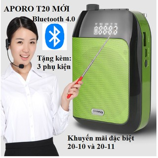 Máy trợ giảng Aporo T20 UHF bluetooth chính hãng