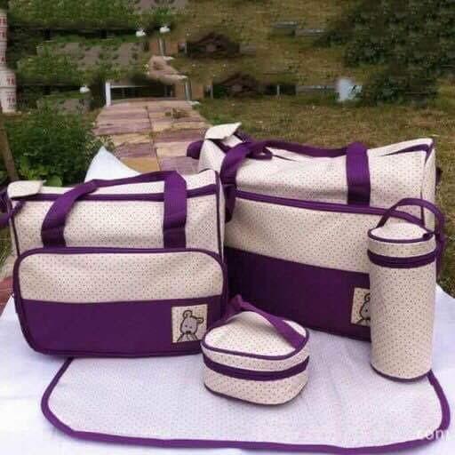 Bộ túi 5 chi tiết cho mẹ và bé - 2915463 , 210383061 , 322_210383061 , 190000 , Bo-tui-5-chi-tiet-cho-me-va-be-322_210383061 , shopee.vn , Bộ túi 5 chi tiết cho mẹ và bé