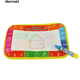 Baby Kids Water Drawing Painting Writing Mat Board Magic Pen Doodle Toy