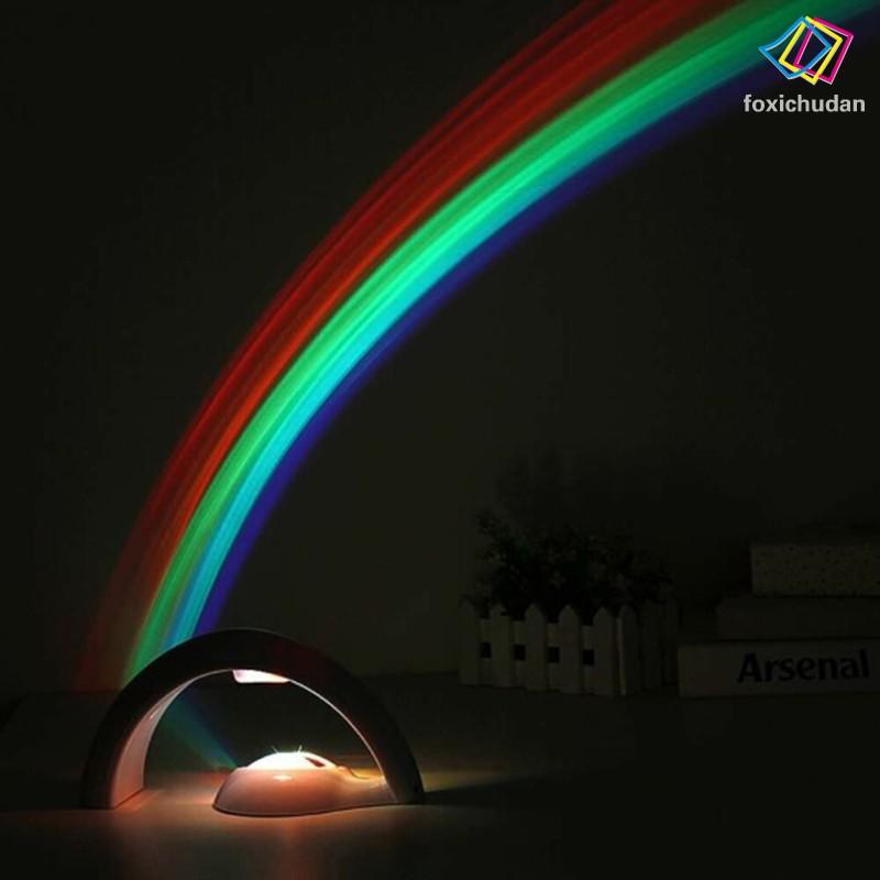Đèn Ngủ Cầu Vồng Sáng Tạo