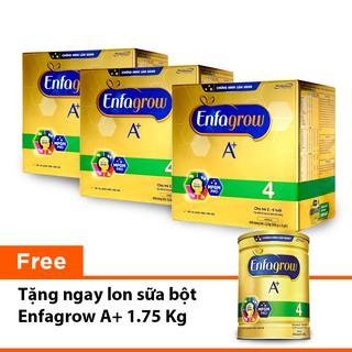 """[Tặng 1 lon Enfa A+ 4 1750g] Combo 3 hộp Sữa bột Enfa A+ 4 BIB 2,2kg/hộp giá chỉ còn <strong class=""""price"""">245.700.000.000đ</strong>"""