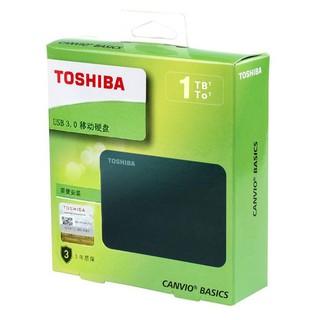 Box HDD ổ cứng di động TOSHIBA CANVIO BASICS 500GB 1TB 2TB 2.5'' USB 3.0. Vi Tính Quốc Duy