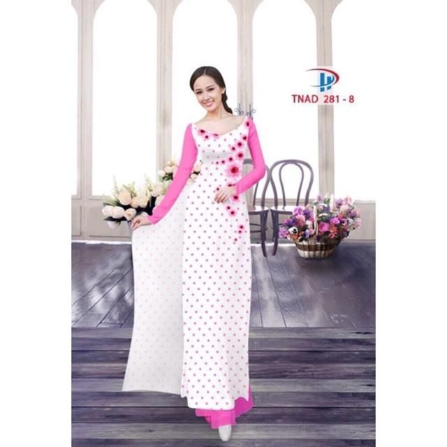 Vải áo dài chấm bi - 2989537 , 523238045 , 322_523238045 , 160000 , Vai-ao-dai-cham-bi-322_523238045 , shopee.vn , Vải áo dài chấm bi