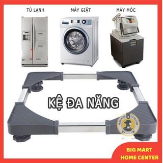 Kệ Chân Đế Để Tủ Lạnh Máy Giặt Đa Năng Không Bánh xe – có thể tăng giảm kích cỡ phù hợp mọi dòng máy hiện nay