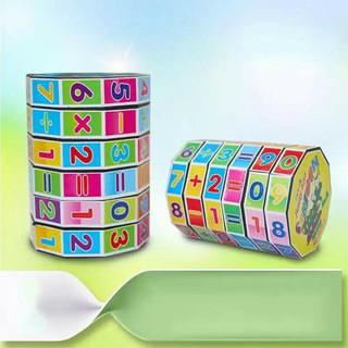 Combo Bộ 2 Rubic Cho Bé Làm Quen Chữ Số Và Tập Làm Toán