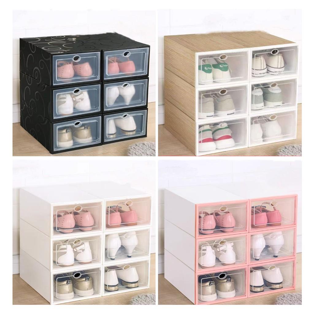 Hộp Đựng Giày Thông Minh Trong Suốt,Tủ Giày Tiện ích - Mua 1c Hộp Đựng Giày Tặng 3 Túi Thơm Nhỏ
