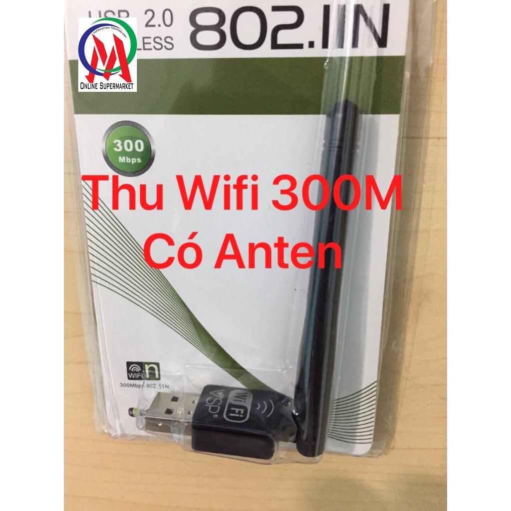 USB Wifi VSP 300M có Anten