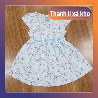 giao ngẫu nhiên-váy cho bé gái mặc hè-hàng xuất khẩu- thun cotton co giãn 4 chiều, mềm mịn, mặc mát