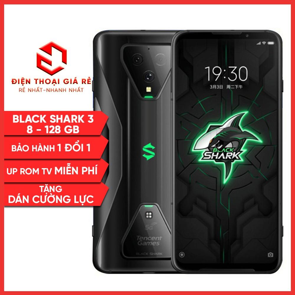 Điện Thoại Xiaomi Black Shark 3 - RAM 8GB, 12GB - [Giá rẻ, BH 1 đổi 1 trong 3 tháng - Tặng dán cường lực]