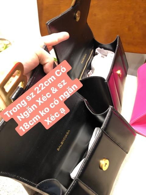 Túi Chữ BB To loại Đẹp nhất Sz 18 & 22cm Kèm Hộp