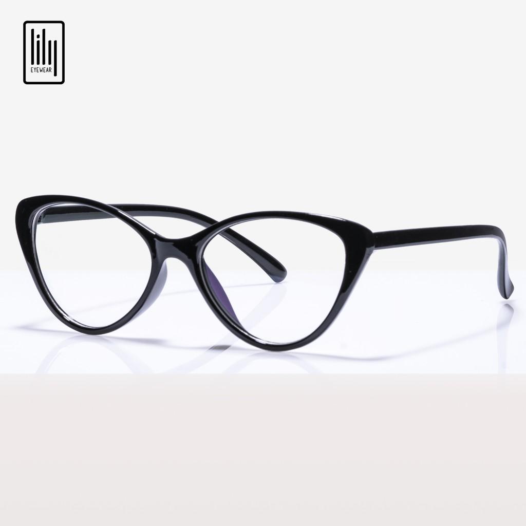 Gọng kính mắt mèo nhựa dẻo Lilyeyewear 2383 nhiều màu