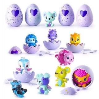 Trứng Hatchimals màu tím (thú khác nhau)