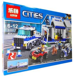 Bộ Lego Ghép Hình Ninjago City Container Police No.02018. Có 404 Chi Tiết. Lego Ninjago Lắp Ráp Đồ Chơi Cho Bé